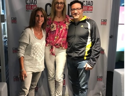 Life Unrehearsed on CJAD800 AM Interview